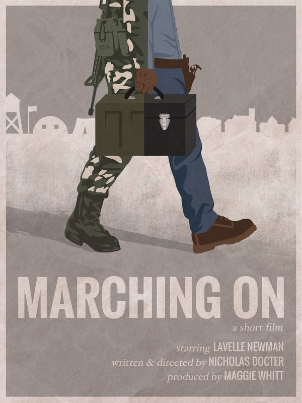 Marching On poster
