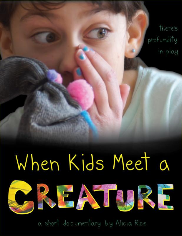 When Kids Meet A Creature Poster