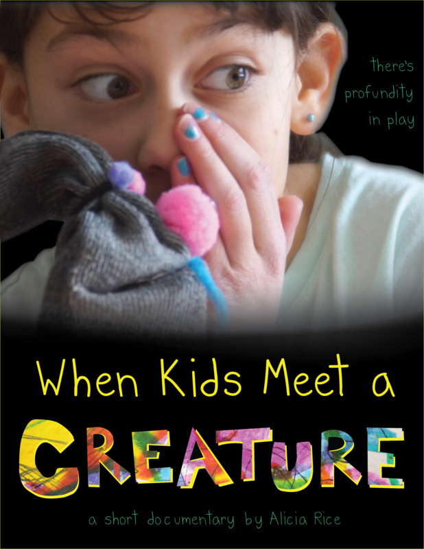 When Kids Meet A Creature Poster